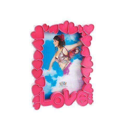Фоторамка Sweetheart, розовая фоторамка you ll love с зажимами 47 x 16 x 3 см