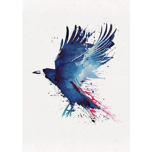 """Принт """"Crow"""" А3"""