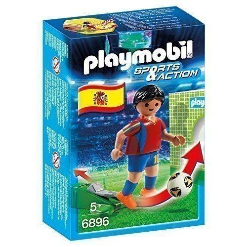 """Игровой набор """"Футбол. Игрок сборной Испании"""", 9,3 х 14,2 см"""