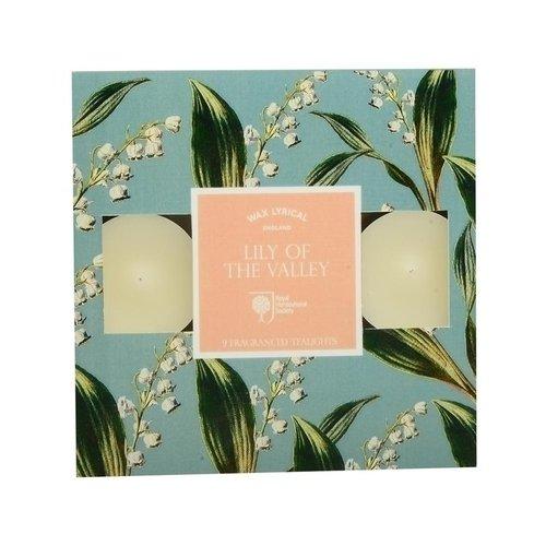 Набор ароматических чайных свечей Ландыши набор ароматических саше wax lyrical цветущий хлопок 45 г 2 шт