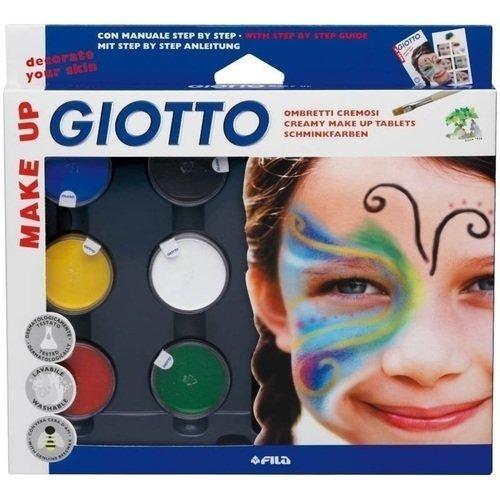 "Краски для грима ""Make Up"" 6 цветов Giotto"