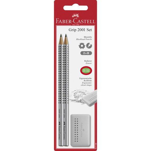 "Набор в блистере: 2 карандаша ""Grip 2001"" + ластик ""Grip Edge"" все цены"