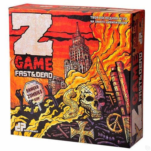 Фото - Настольная игра Dead Project: Z-game: Fast&Dead настольная игра luidgi game румми тон 5264