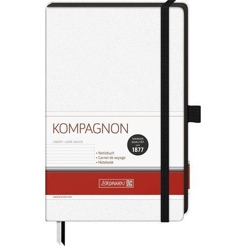 "Блокнот ""Companion"" А5, 96 листов, в линейку, белый цена и фото"