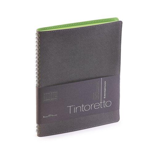 Еженедельник недатированный Tintoretto В5 серый pierre cardin еженедельник north недатированный 80 листов на резинке цвет светло серый формат a5
