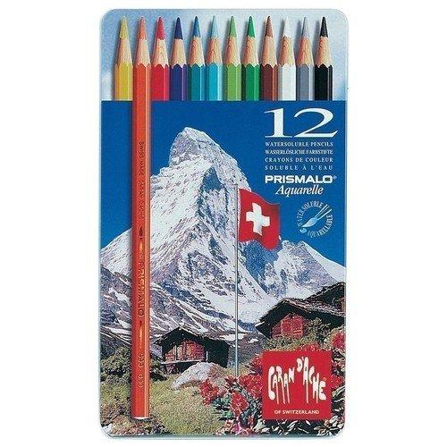 Карандаши цветные Prismalo, 12 цветов цветные карандаши stabilo aquacolor в металлическом футляре 24 цвета