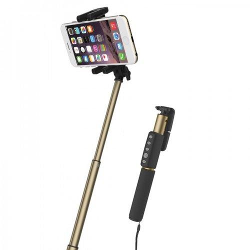 Фото - Монопод Selfie Shutter & Stick II, золотистый видео