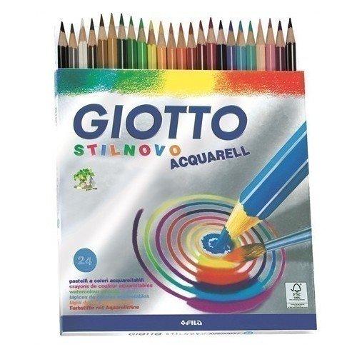 Набор акварельных карандашей Stilnovo, 24 цвета