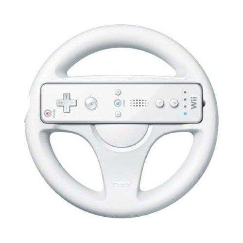 Игровой контроллер-руль Wii Wheel plastic racing wheel controller for wii pink