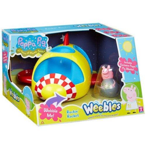Купить Игровой набор Ракета Пеппы. Неваляшки , Peppa Pig, Игровые наборы
