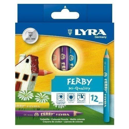 Фото - Набор коротких карандашей Ferby, 12 цветов набор коротких спиц lace short tips