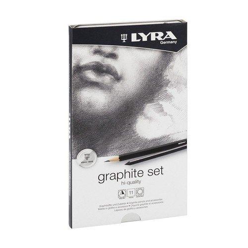 Фото - Карандаши художественные + ластик + пастель Graphite Set lyra художественный набор graphite set 11 предметов