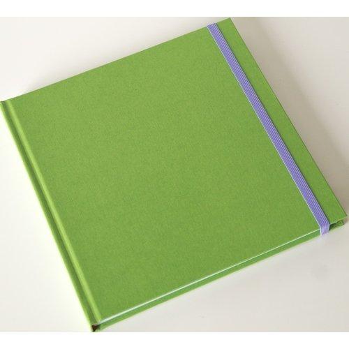 Скетчбук, 64 листов, 160 г/м2, 20 х 20 см, салатовый скетчбук infolio 150х210 64 листа euro business i160 black