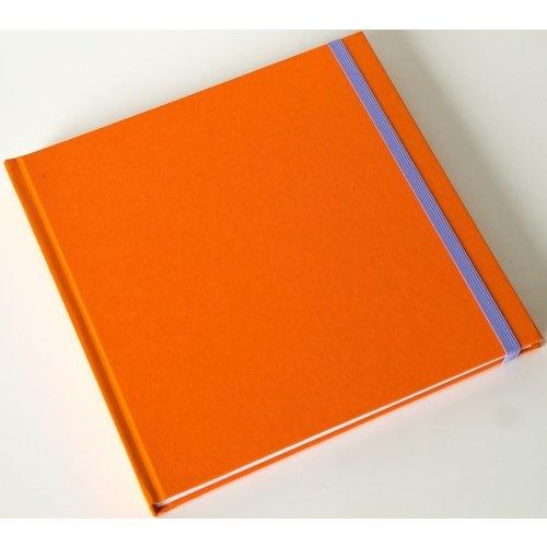 Скетчбук для маркеров и смешанных техник 20х20 оранжевый Etot_sketchbook