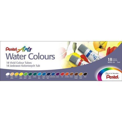 "Акварель ""Water Colours"", 18 цветов"