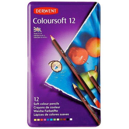 Карандаши цветные Coloursoft, 12 цветов цветные карандаши bic kids evolution в металлической упаковке 12 шт