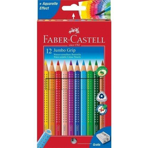 Карандаши цветные Jumbo Grip, 12 цветов цветные карандаши stabilo 12 цветов