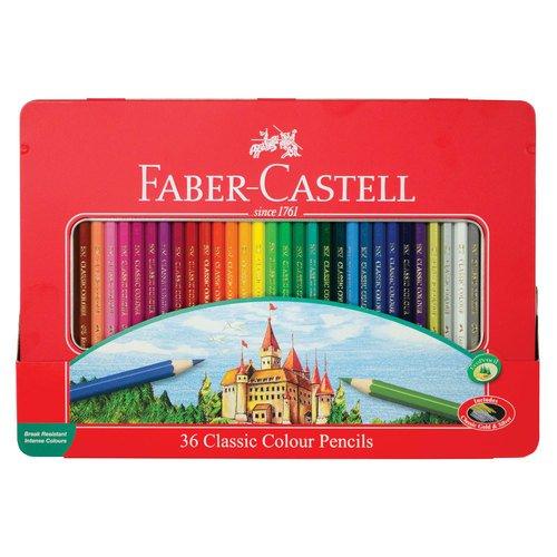 Карандаши цветные Замок, 36 цветов цветные карандаши maped color peps в металлической коробке 12 цветов