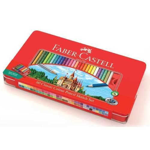 Карандаши цветные Замок, 60 цветов цветные карандаши maped color peps в металлической коробке 12 цветов
