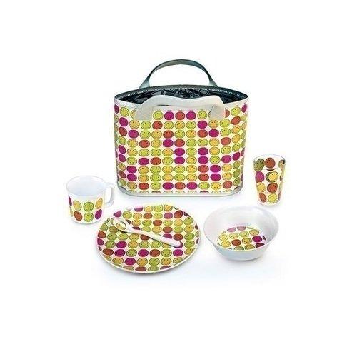 Подарочный набор для ланча Smiley Happy Days сумка для ланча altabebe al1003