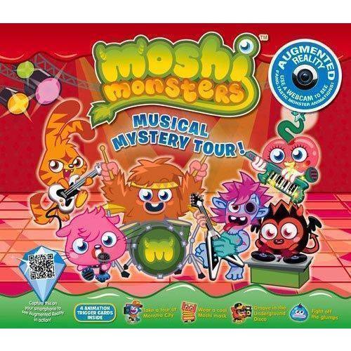 Купить Moshi Monsters Musical Mystery Tour. An Augmented Reality Book, Художественная литература