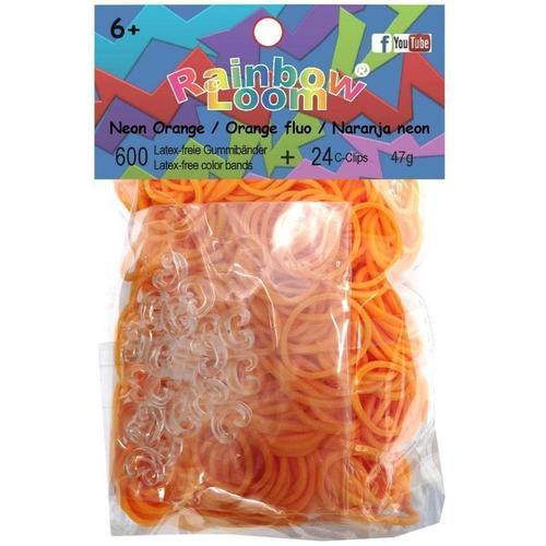 """Резинки для плетения """"Solid Bands - Neon Orange"""", оранжевый цены онлайн"""