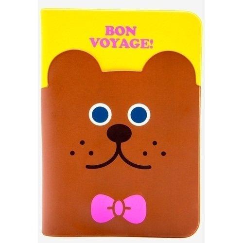 """Обложка для паспорта """"Bon Voyage"""""""