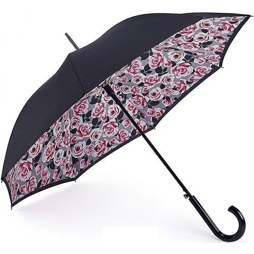 Зонт-трость женский Розы зонт трость fulton fulton mp002xw13rqy