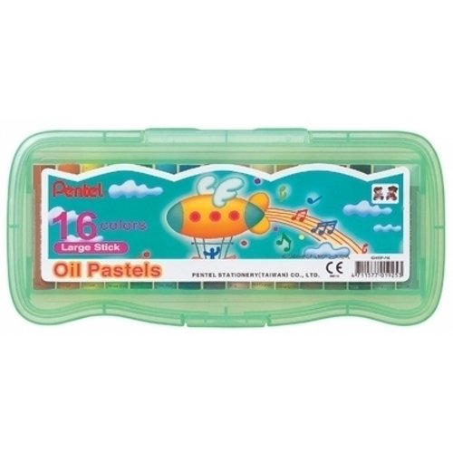 Пастель масляная Oil Pastels, 16 цветов цена