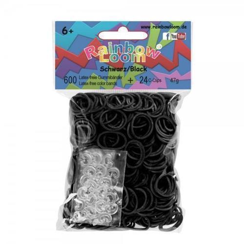 Резинки для плетения черные цена