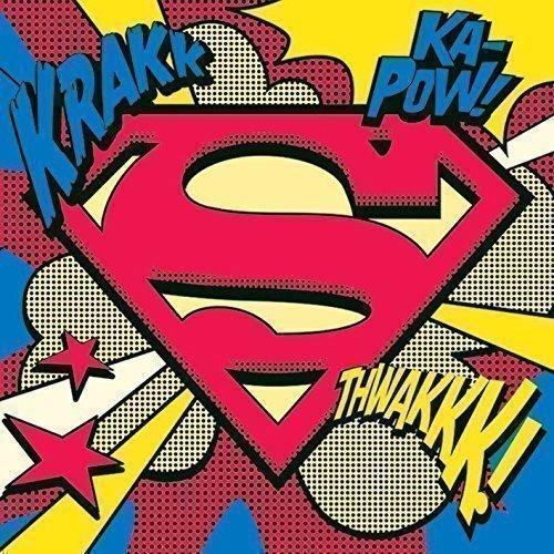 Постер Superman арт постер в багете на полустанке в г казанцев 27 см x 40 см
