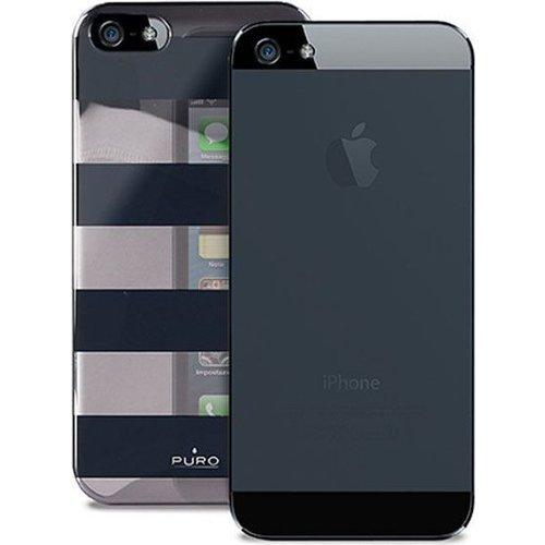 "Чехол для iPhone 5 ""Stripe Cover"" черный цена и фото"