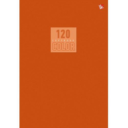 Тетрадь Стиль и цвет. Оранжевый, А5-, 120 листов, клетка проф пресс тетрадь 120 листов в клетку цвет оранжевый