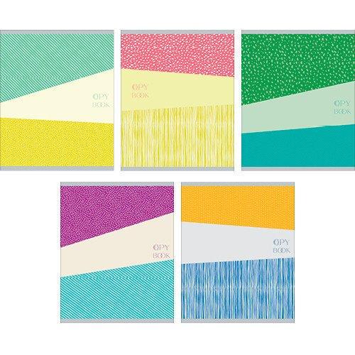 Фото - Тетрадь Разноцветная серия (текстуры), А5, 40 листов, клетка разноцветная серия текстуры 40л 5 видов