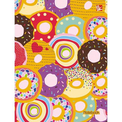 Записная книжка Волшебные сладости А6, 48 листов, в линейку феникс записная книжка цветочный узор 48 листов в линейку
