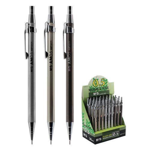 Карандаш механический, 0.5 мм, медный корпус карандаш 0 3 мм
