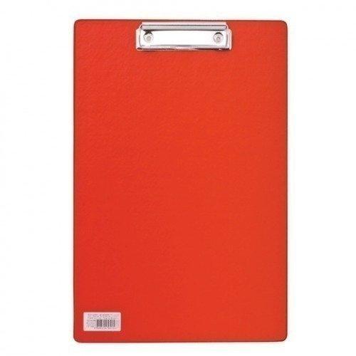 Доска-планшет Comfort с верхним прижимом А4, красная планшет а4 carbon