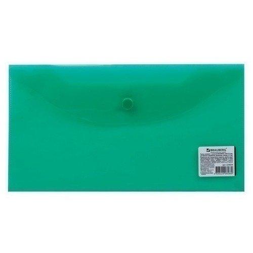 Папка-конверт с кнопкой прозрачная зеленая папка конверт с кнопкой а3 прозрачная зеленая