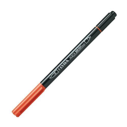"""Двойной фломастер """"Aqua Brush Duo"""", темно-оранжевый"""