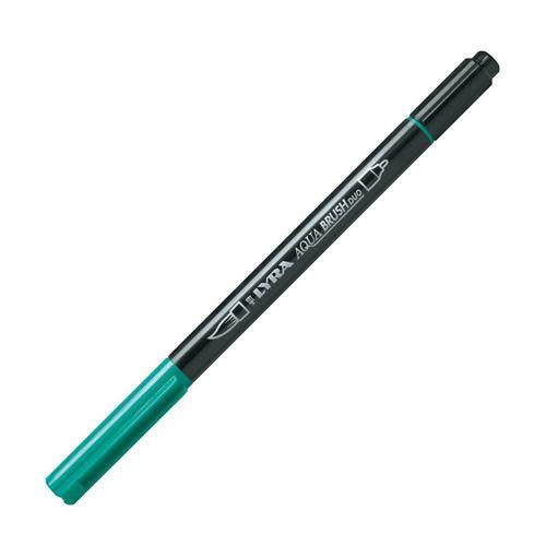 """Двойной фломастер """"Aqua Brush Duo"""", темно-зеленый"""