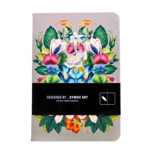 Тетрадь нелинованная А5 Цветы тетрадь 24л а5 линейка комплект подписные издания tattoo