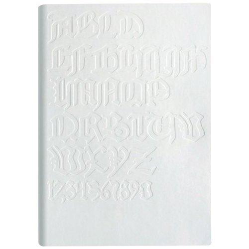 Блокнот Tai White / Gutenberg bibel А6, белый