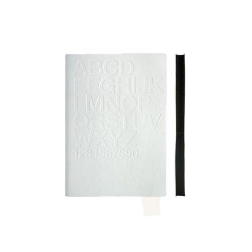 """Блокнот """"Tai White / Helvetica"""" А6, белый"""