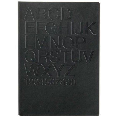 Блокнот Tai Black / Helvetica А6, черный блокнот yellow а6