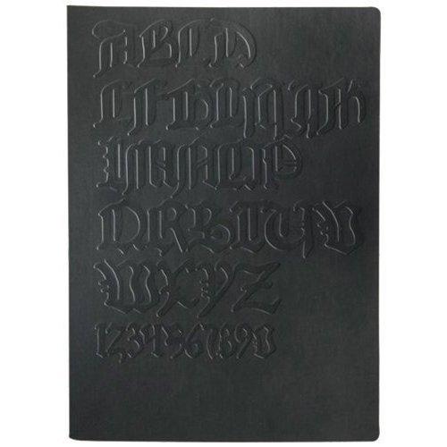 Блокнот Tai Black / Gutenberg bibel А5 черный