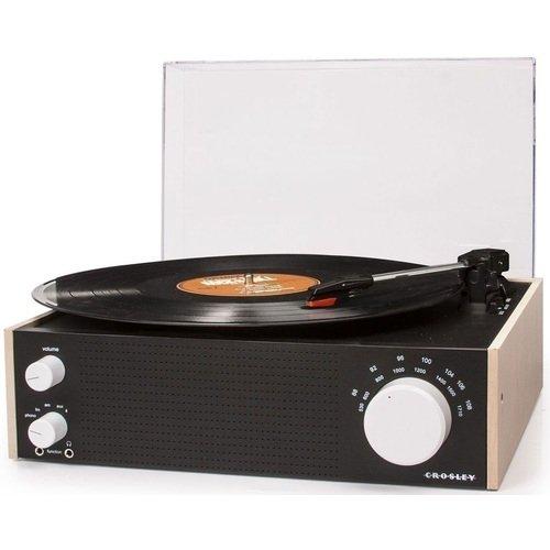 Виниловый проигрыватель Switch FM-AM CR6023A-NA, черно-бежевый портативный dvd проигрыватель sony