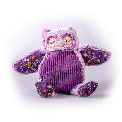 Мягкая игрушка Совушка, фиолетовая, 18 см игрушка