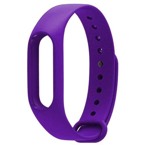 """Cменный ремешок для браслета """"Mi Band 2"""" фиолетовый"""