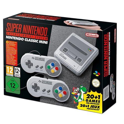 Игровая консоль SNES Classic Mini + 21 игра