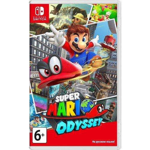 """Игра Switch на картридже """"Super Mario Odyssey"""""""